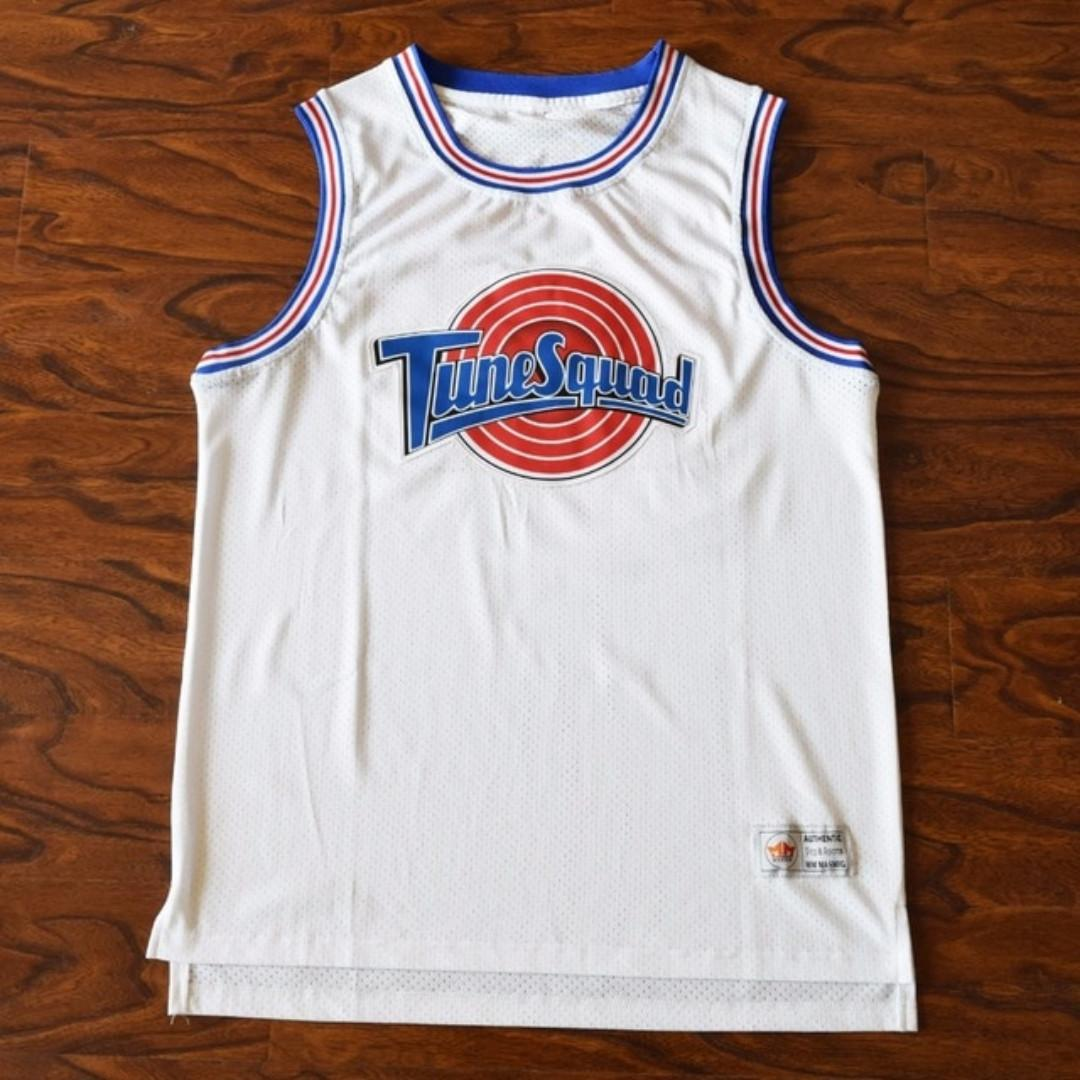 the latest ae138 3c2b8 Taz ! Space Jam Jersey Tune Squad Looney Tunes Basketball ...