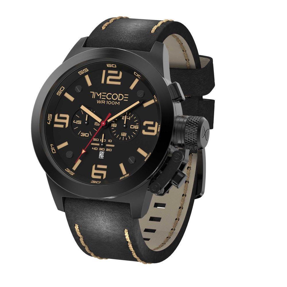 Timecode Nations 1945 Watch - Mens Quartz Chronograph