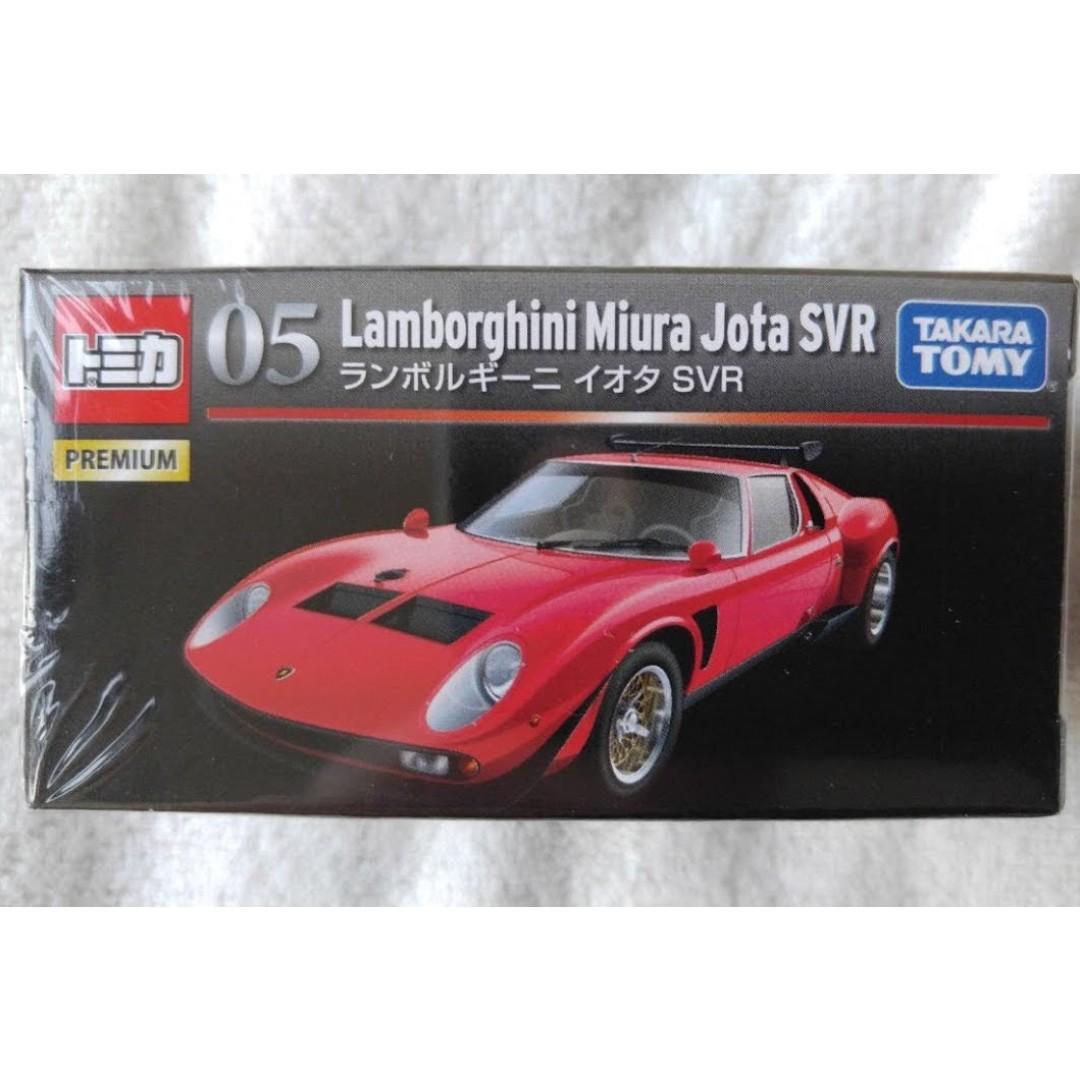 Tomica Premium Tp 05 Lamborghini Miura Jota Svr Toys Games