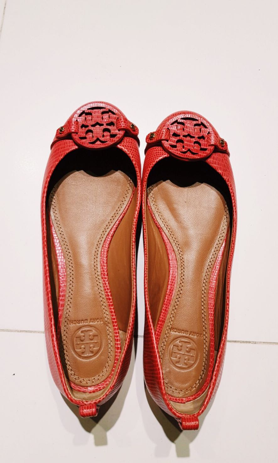 2546a10ad Tory Burch Flats Authentic