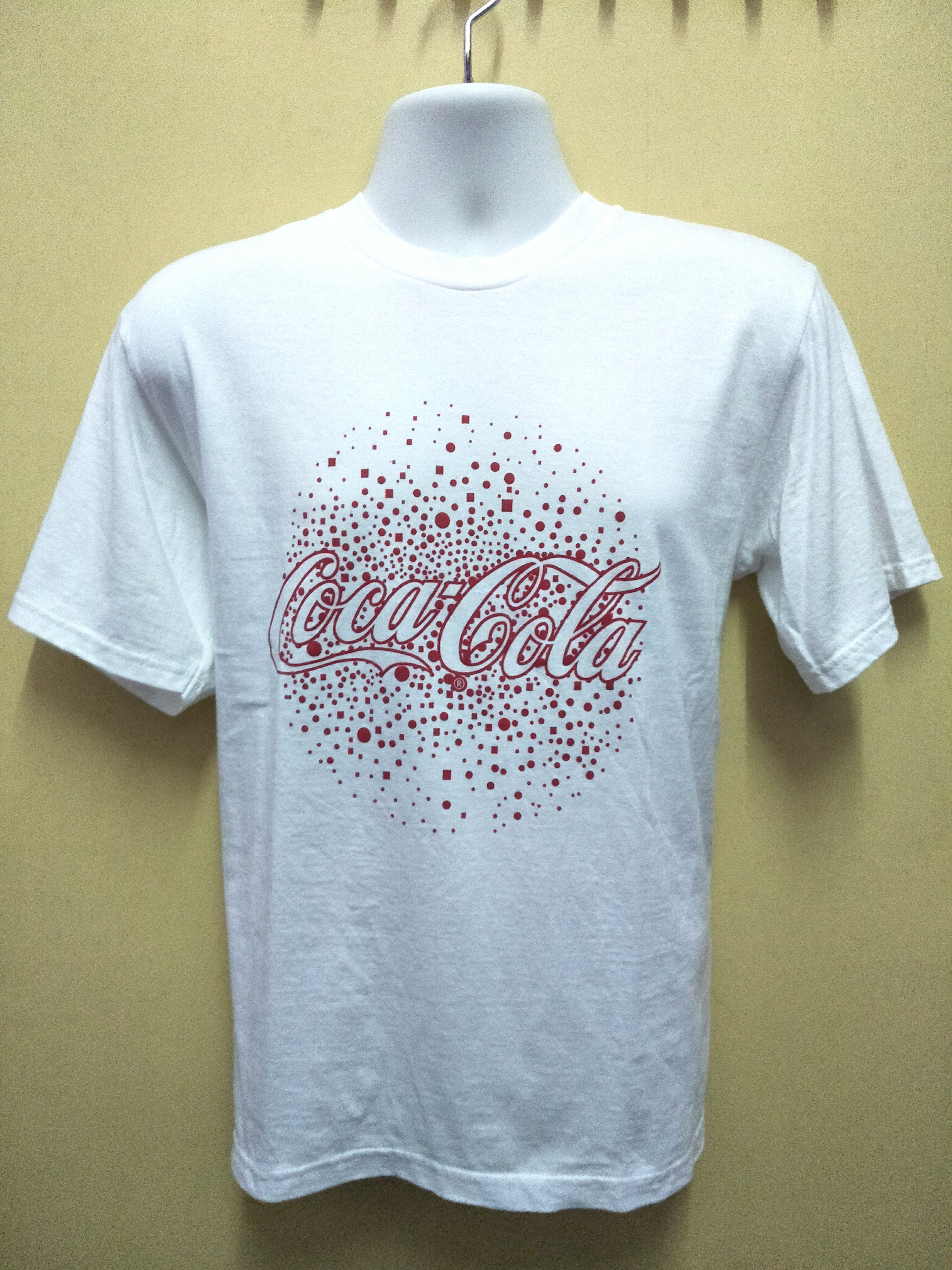 7805327c2 Tshirt Coca Cola Putih, Men's Fashion, Clothes, Tops on Carousell
