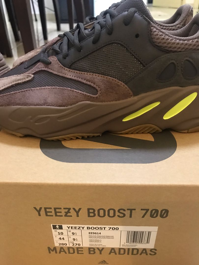 b483950d7 US10  Adidas Yeezy 700 Mauve - STEAL
