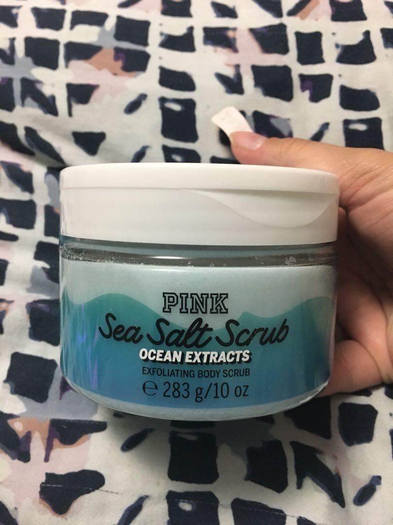 Victoria's Secret PINK sea salt scrub - NEW!