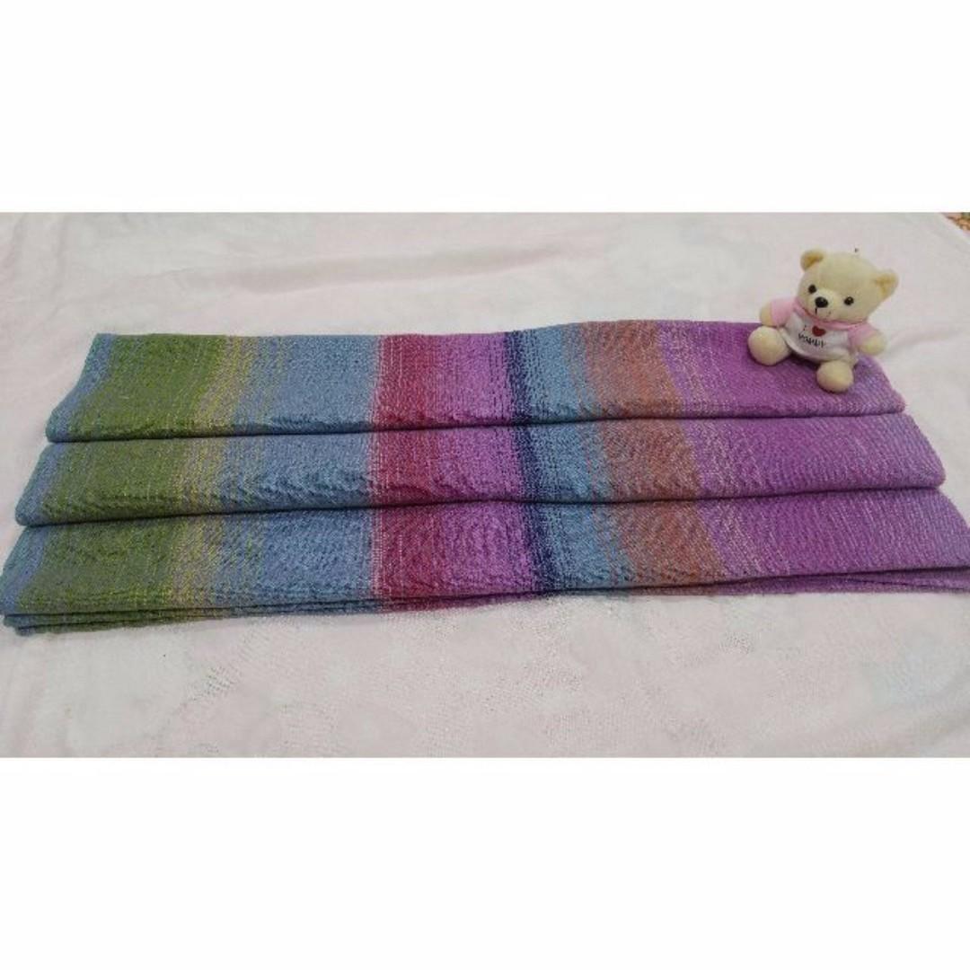 aa72bcffa11 Woven Baby Watercolour Plainweave 100% Cotton Wrap