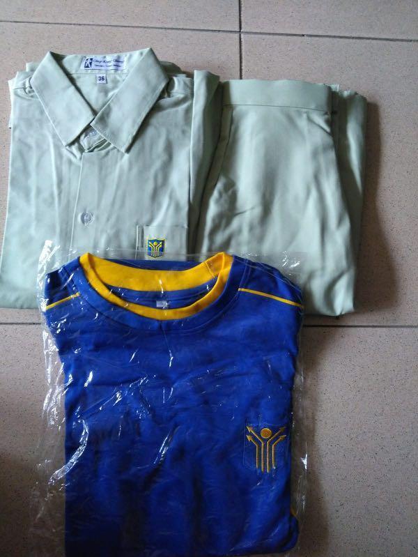 Yishun Town Secondary uniform/PE/skirt, Everything Else on