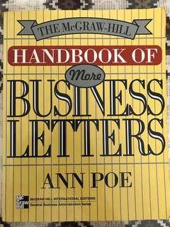 Handbook of Business Letter