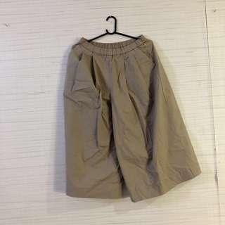 Uniqlo cotton culottes