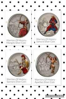 Warrior history by New Zealand mint