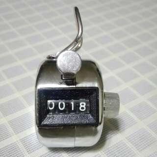 手動數人流器 tally counter / manual.counter