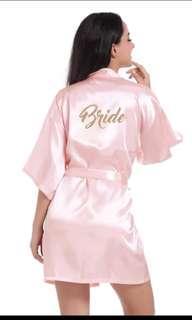 Wedding Bathrobe