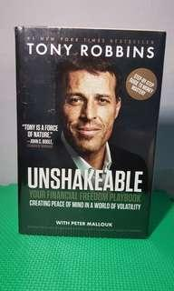 "Financial Book (Unshakeable ""Your Financial Freedom Playbook) by Tony Robbins"