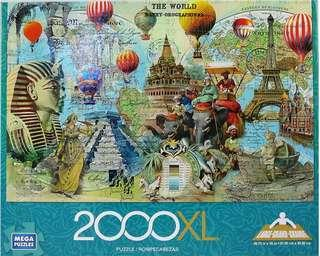 The World Traveler Puzzle NEW