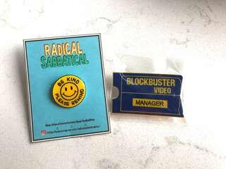 💙 Blockbuster Video Pins 💙