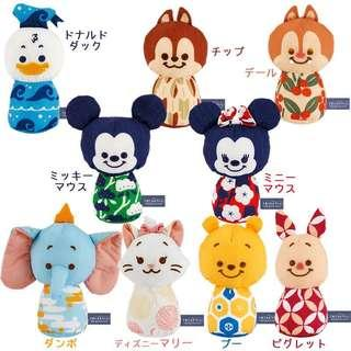PO japan Disney character baby toy with bell
