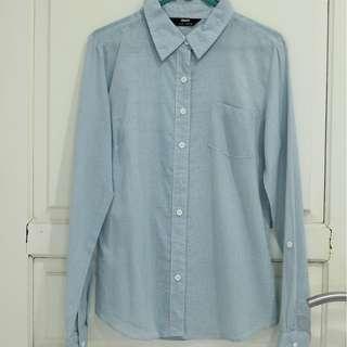 Blue Office Shirt