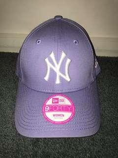 Purple NY Hat