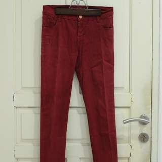 Red Trouser / Jeans