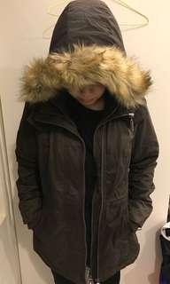 🚚 Superdry極度乾燥 刷毛長版風衣
