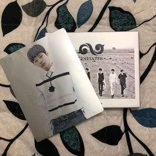 Infinite Be Back album + L/Myungsoo photocard