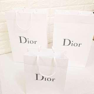 名牌迪奥纸袋 Dior Paper Bags 👜👜👜