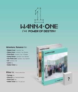【Kihno Preorder】Wanna One Power of Destiny Kihno Album