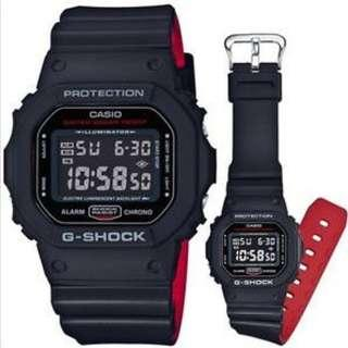 Casio | G-Shock | DW-5600HR-1DR | Authentic