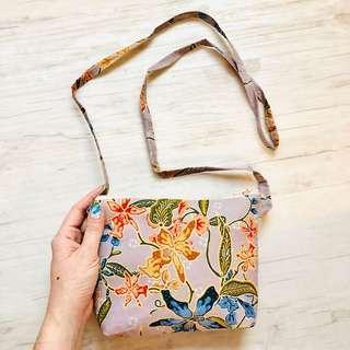 Batik Sling Bag Handmade in Singapore