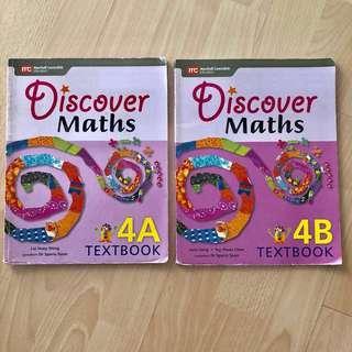 P4 : Discover Maths 4A & 4B