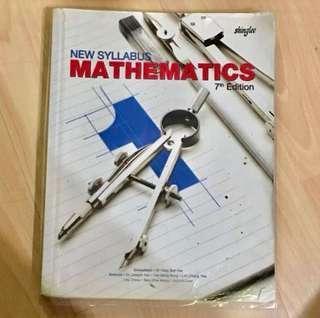 Sec 1 Math Textbook - 7th Edition by Shinglee