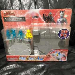 Bandai SUMO BATTLE play set