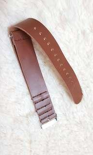 NATO LEATHER WATCH STRAP