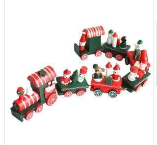 Extra Long Christmas Green Express Train