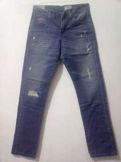 Celana  Ripped Jeans Wrangler Greensboro Original