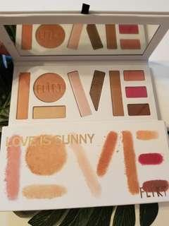 Flirt Cosmetics Love is Sunny Pallete (read description)