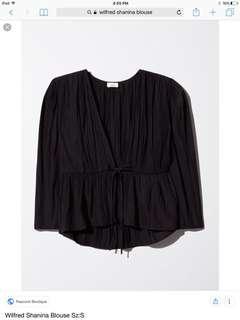 Wilfred Shanina blouse