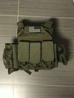 Flyye Industries Tactical vest 翔野戰術背心