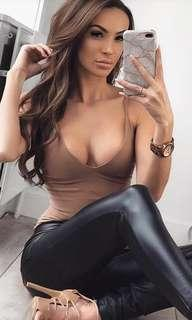 Fashion Nova sleek and slay bodysuit