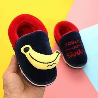 🚚 可愛保暖加絨居家鞋(鞋內長17公分)