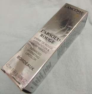 Authentic Lancome Paris L'absolu Rouge Lipstick