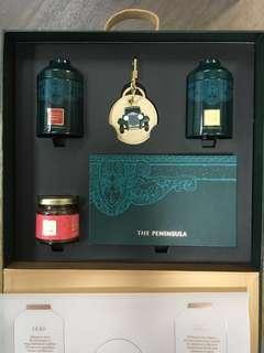 The Peninsula Boutique gift set 半島酒店茶葉XO醬鎖匙扣禮盒