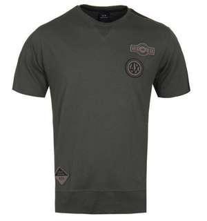 Armani xchange olive khaki shirt  M size