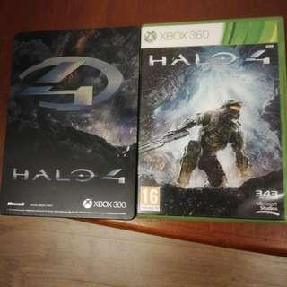 Halo 4 and Steelbook