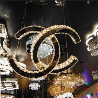 Chanel lights chandelier Chanel hanging lights