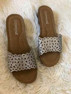 Officine Silver Sandals