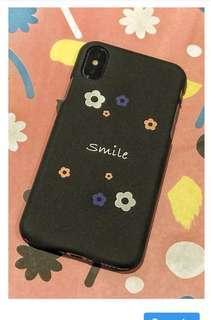 IphoneX Flower smile case