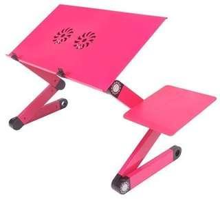 Plastic Laptop stand bed computer desk table aluminum alloy