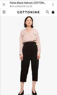 Cotton Ink pants black helmut