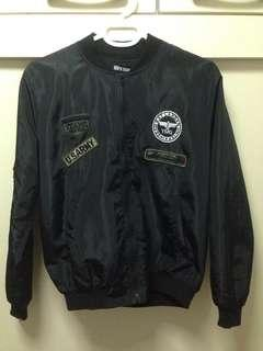 Miira Mew Black Bomber Jacket