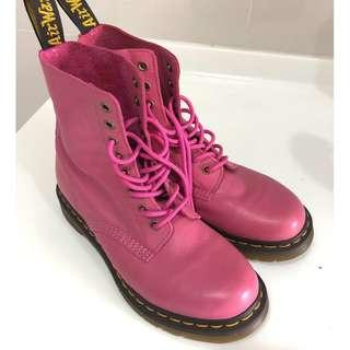 Dr Martens Boots Full Leather Size 41