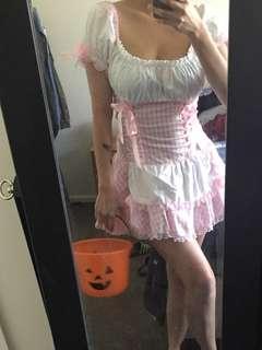 costume pink maid